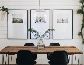 How to Create An Industrial Style Dining Room