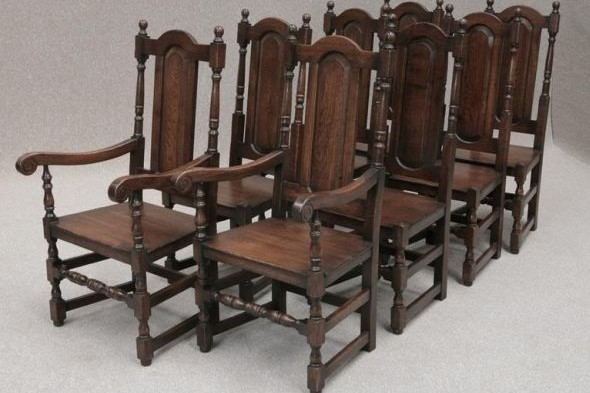 Solid oak Premier Panelback Chair (W)