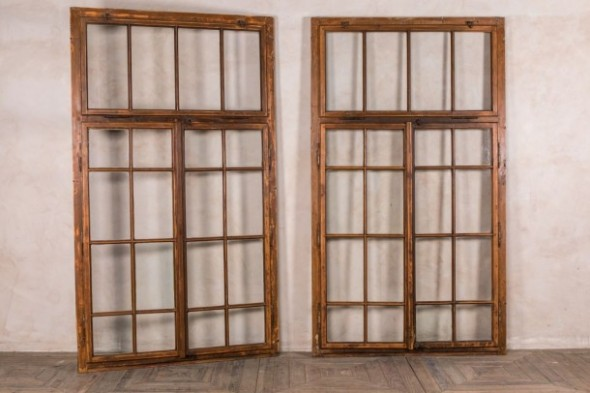 Large Rustic Window Frames