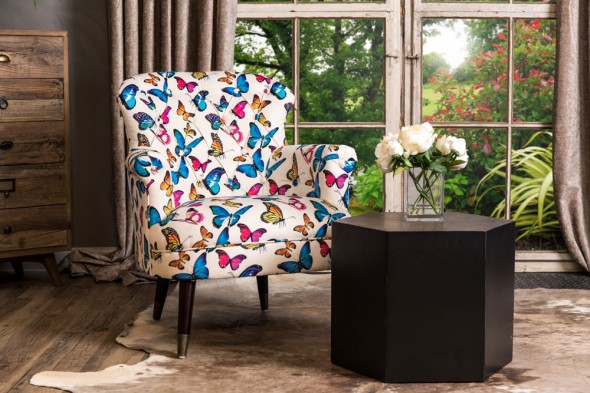 Venice Patterned Armchair
