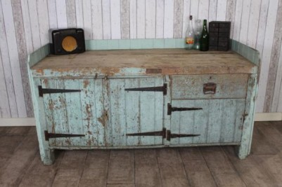 large industrial kitchen island