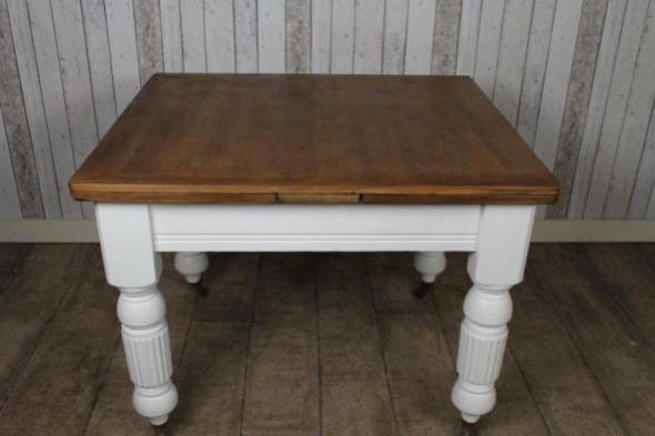 VICTORIAN PINE EXTENDING TABLE