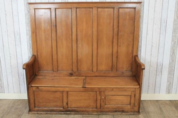 Antique Pine Settle