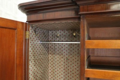 large carved wardrobe