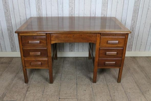 1930s Oak Office Desk