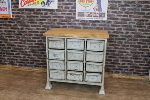 22 METAL DRAWERS @ £5 EACH