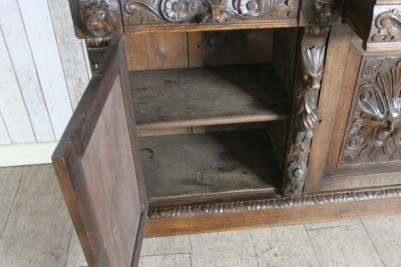 open door oak cupboard