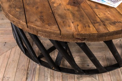 tractor wheel coffee table