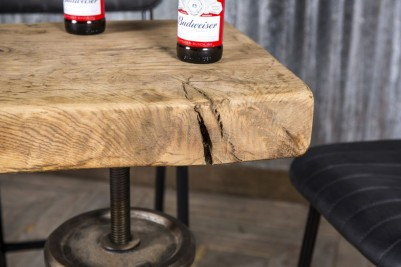adjustable wooden top table