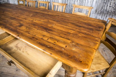 large Victorian table