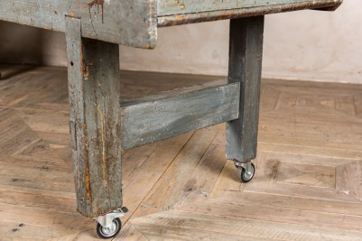 castors industrial joiners bench