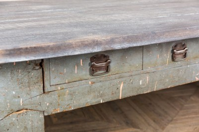 distressed breakfast bar