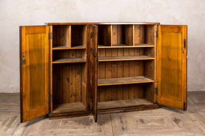 open-vintage-kitchen-cupboard