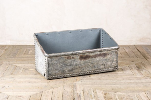 Industrial Galvanised Storage Bin