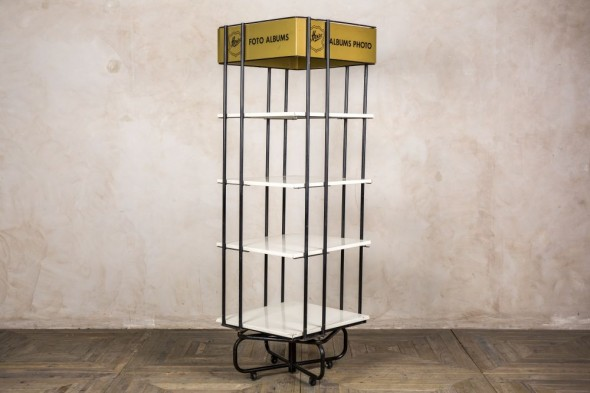 Vintage Rotating Tiered Shop Display