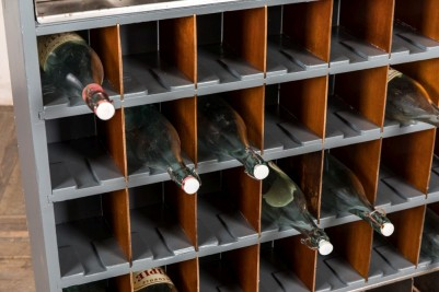 freestanding wine rack