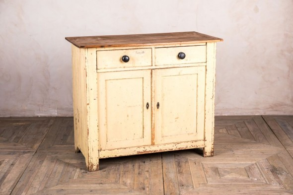 Small Victorian Pine Sideboard