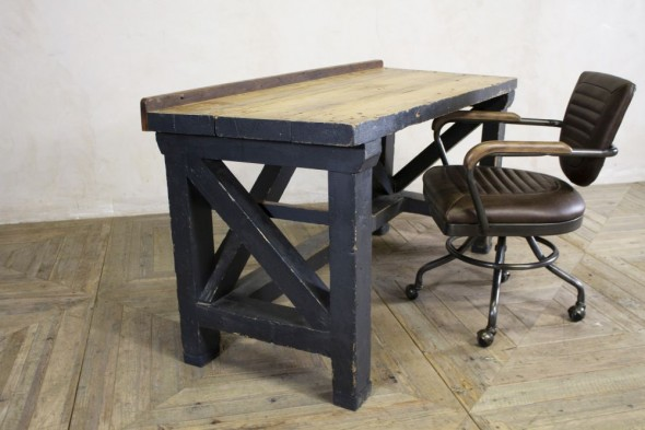 Vintage Industrial Office Table