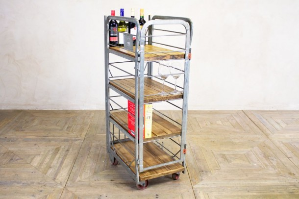 Vintage Industrial Shelving Unit