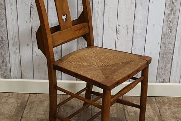 Clover leaf Edwardian Lincoln chapel chair