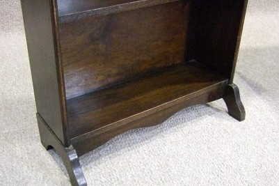 1920s oak bookcase