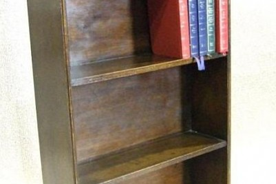 Antique 1920s oak bookcase