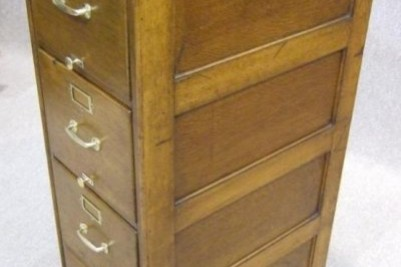 1920s antique filing cabinet