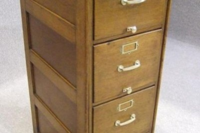 1920s office cabinet solid oak