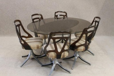 Retro dining suite