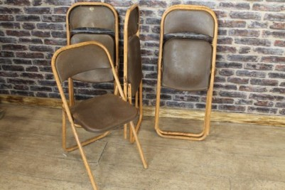 English folding chairs