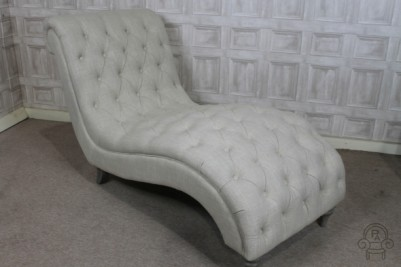 cream chaise longue