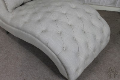 sofa with button detail