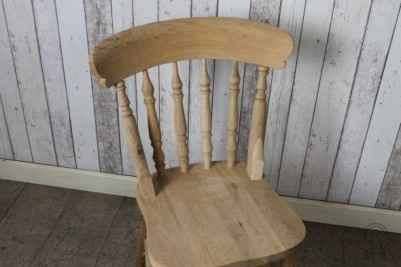 Victorian style spindle back chair