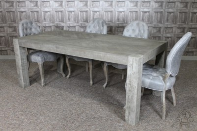 Alice chairs and Herringbone table