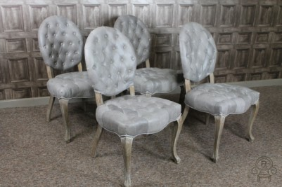 Rococo style dining chairs