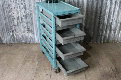 metal storage unit