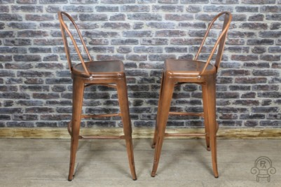 tall metal bar stool