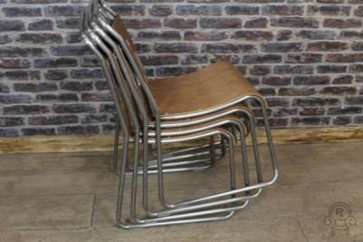 gunmetal industrial style chair