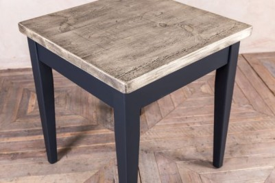 tapered leg cafe dining table