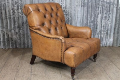 the Westminster leather armchair