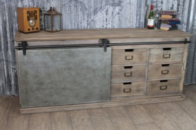 industrial look sideboard