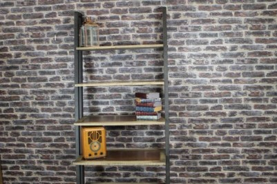 square steel framed wall unit