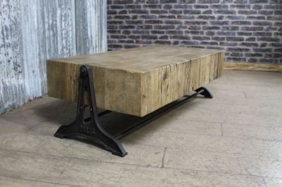 rustic reclaimed pine table