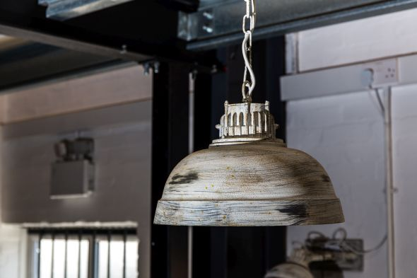Distressed Butler Pendant Ceiling Light