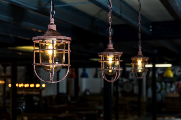 Farringdon Cage Light Fitting Range