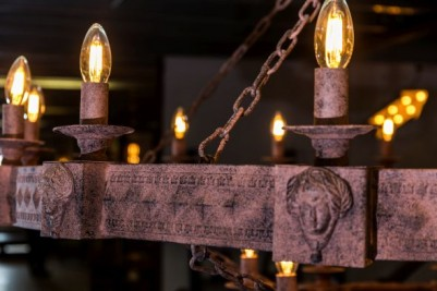 medieval style ceiling light