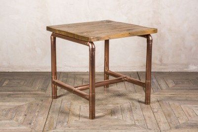 copper pipework table