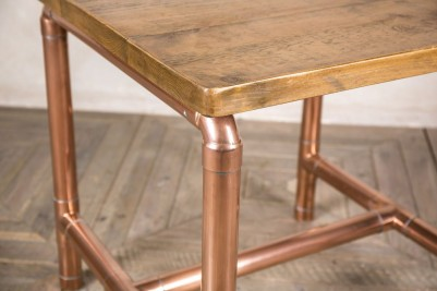square pipework table