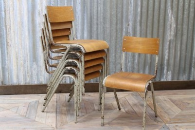industrial metal chairs