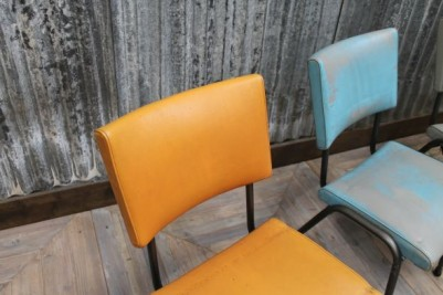 funky upholstered restaurant chairs